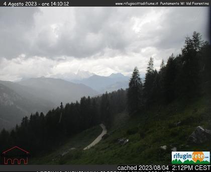 Malga-Ciapela/Marmolada webcam all'ora di pranzo di oggi