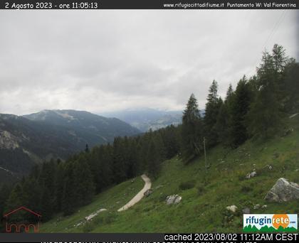 Malga-Ciapela/Marmolada webcam at lunchtime today