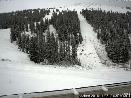 Marmot Basin webcam at 2pm yesterday