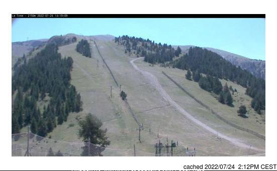 Masella webcam at lunchtime today