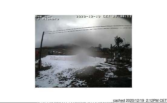 dün saat 14:00'te Massif du Mezenc'deki webcam