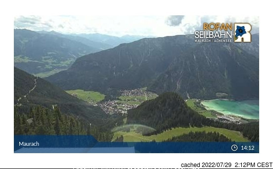 Webcam de Maurach am Achensee à 14h hier