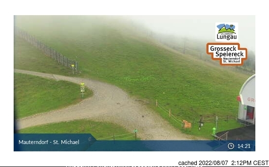 Mauterndorf webcam at 2pm yesterday