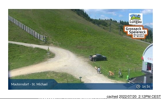Mauterndorf webcam at 2pm yesterday