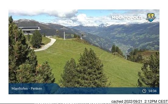 Mayrhofen webcam heute beim Mittagessen