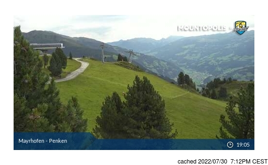 Live webcam per Mayrhofen se disponibile