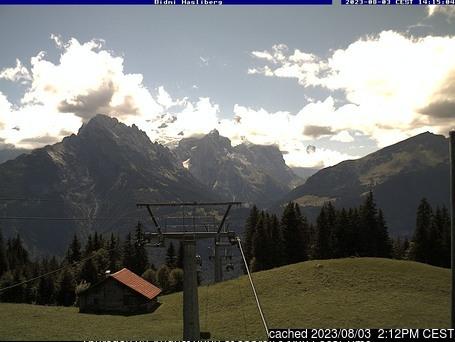 Meiringen-Hasliberg webcam at 2pm yesterday