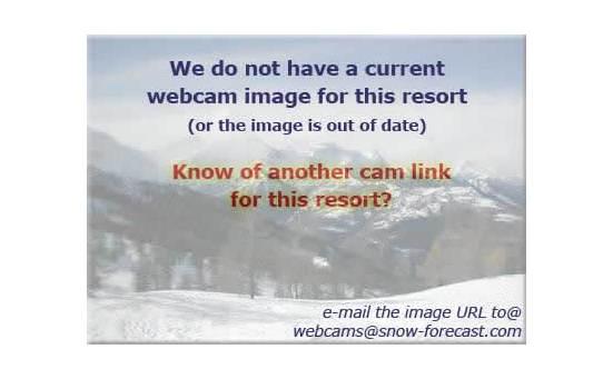 Menthièresの雪を表すウェブカメラのライブ映像