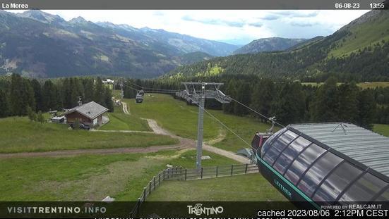 Webcam de Moena a las 2 de la tarde ayer