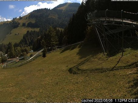 Moléson s/Gruyères webcam at lunchtime today