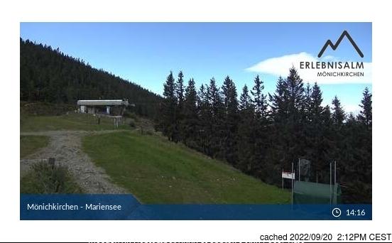 Mönichkirchen-Mariensee webcam at 2pm yesterday