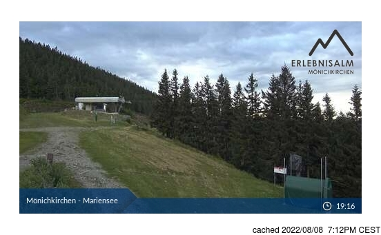 Live Snow webcam for Mönichkirchen-Mariensee