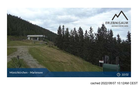 Webcam en vivo para Mönichkirchen-Mariensee