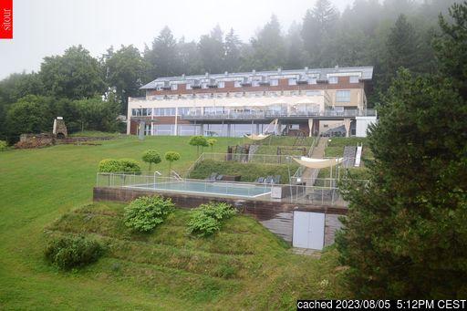 Live Sneeuw Webcam voor Monínec