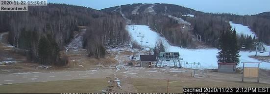 Mont Edouard webcam om 2uur s'middags vandaag