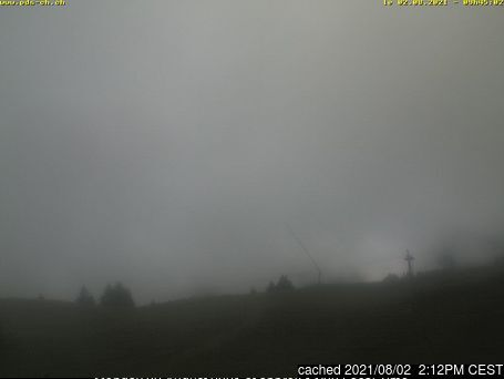 Morgins webcam alle 2 di ieri sera