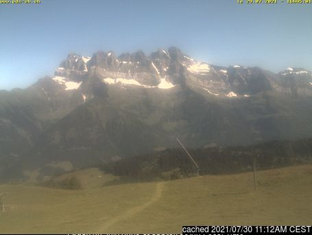 Morgins webcam at 2pm yesterday