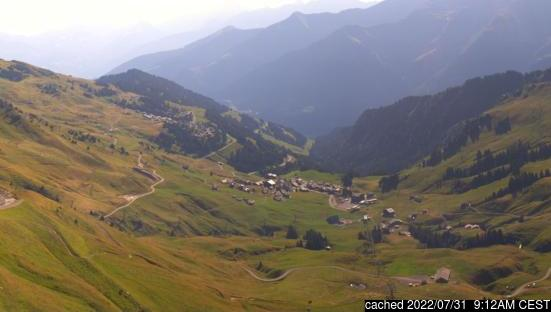 Live webcam per Morzine se disponibile