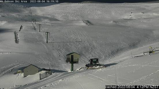 Live Snow webcam for Mount Dobson