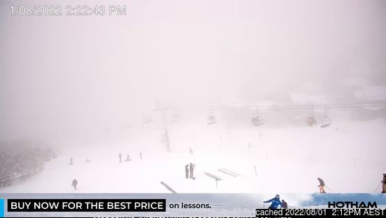 Webcam de Mount Hotham à 14h hier