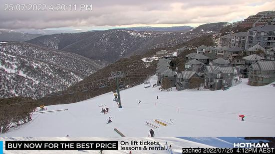 Webcam en vivo para Mount Hotham