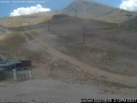 Webcam de Mount Parnassos à 14h hier