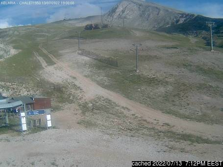 Live webcam per Mount Parnassos se disponibile