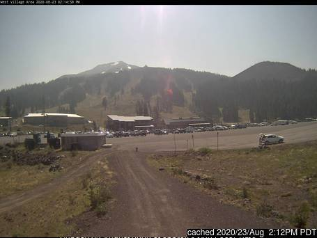 Mt Bachelor webcam at 2pm yesterday