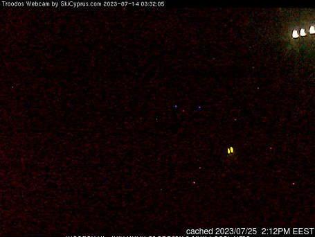 Mt Olympus webcam om 2uur s'middags vandaag