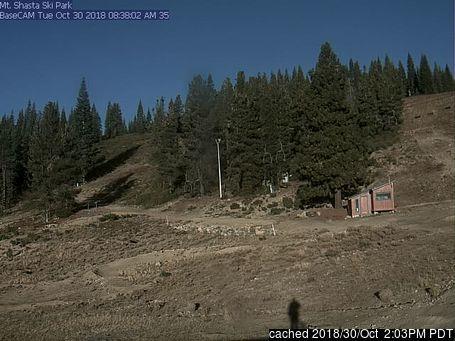 Mt Shasta webkamera v době oběda