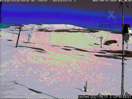 Mt Voras Kaimaktsalan webcam at lunchtime today