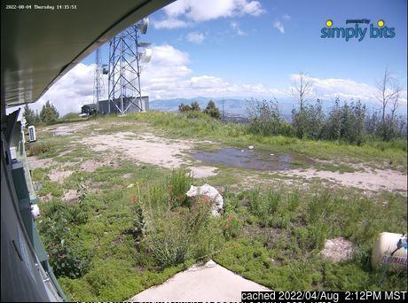 Webcam de Mount Lemmon Ski Valley à 14h hier