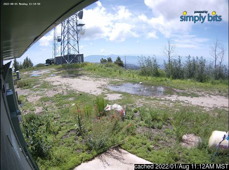 Webcam en vivo para Mount Lemmon Ski Valley