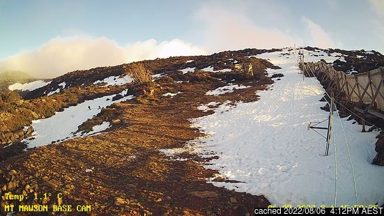 Webcam Live pour Mount Mawson
