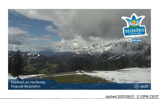 Webcam de Muhlbach am Hochkonig à midi aujourd'hui