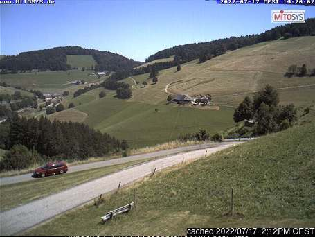 Münstertal-Wieden webcam alle 2 di ieri sera