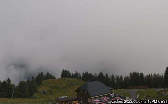 Webcam de Mürren à 14h hier