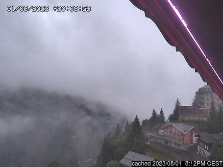 Mürrenの雪を表すウェブカメラのライブ映像
