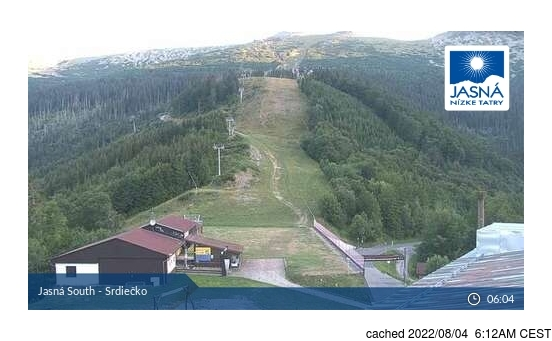 Live webcam per Mýto pod Ďumbierom se disponibile