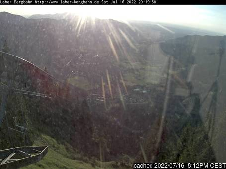 Webcam en vivo para Oberammergau/Laber