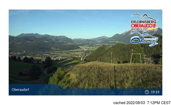 Live Snow webcam for Oberaudorf