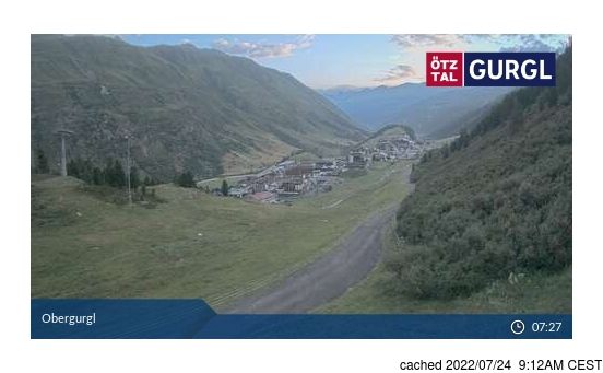 Live Snow webcam for Obergurgl