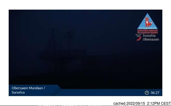 Webcam de Obersaxen - Mundaun - Val Lumnezia à 14h hier