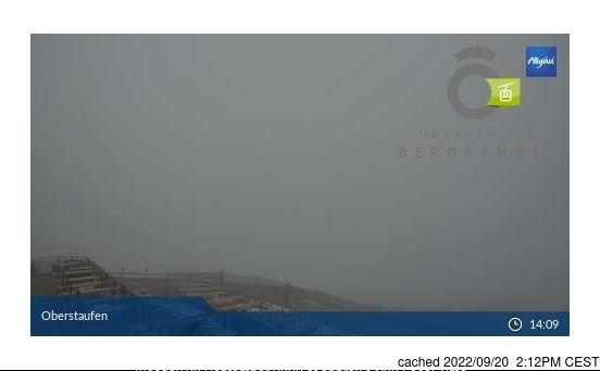 Oberstaufen webcam at 2pm yesterday