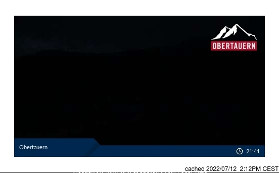 Obertauern webcam at 2pm yesterday