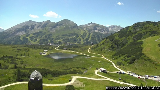 Live Snow webcam for Obertauern