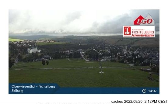 Oberweissbach webkamera ze včerejška ve 14 hod.