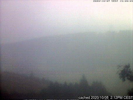 Oberwiesenthal webcam at lunchtime today