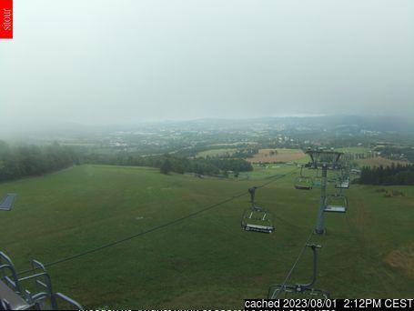 Webcam de Obří sud - Javorník a las 2 de la tarde ayer