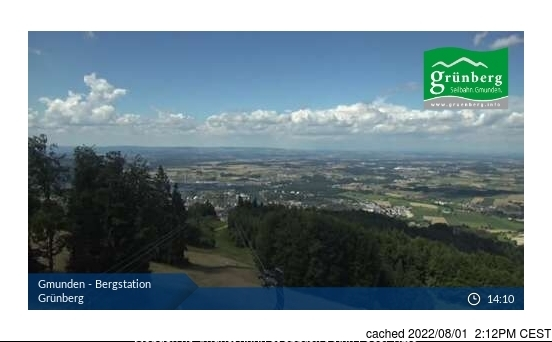Webcam de Obsteig/Grünberg à 14h hier
